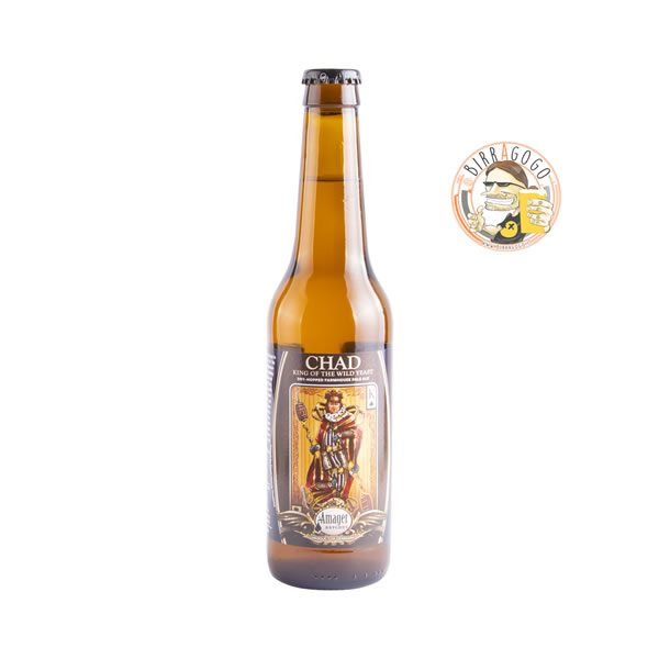 AMAGER - CROCKED STAVE - Chad King of the Wild Yeast