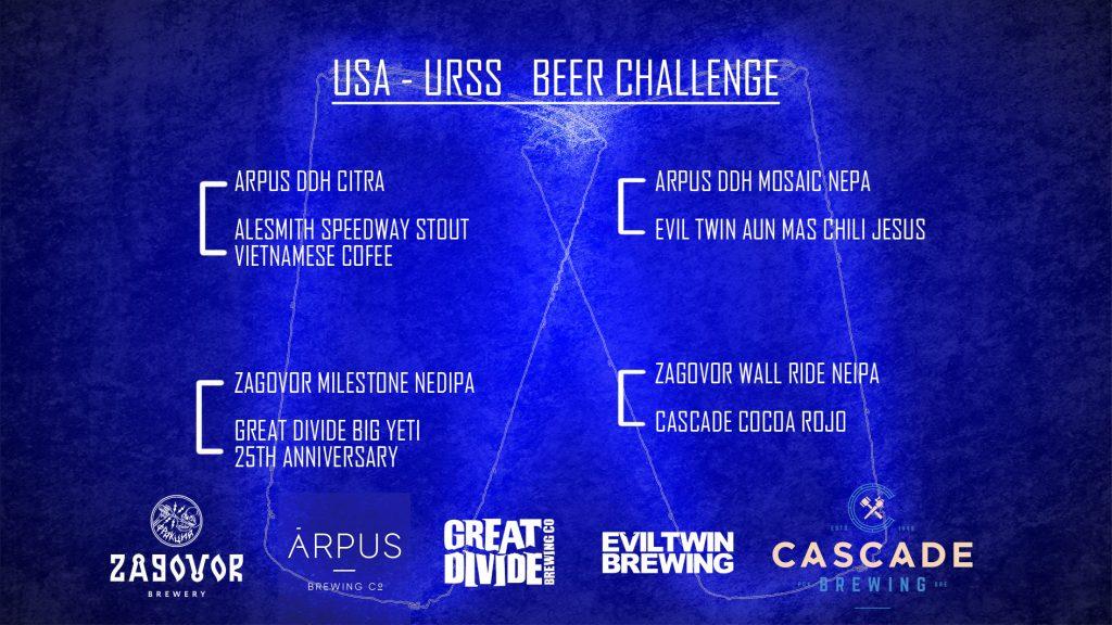 USA – URSS Beer Challenge