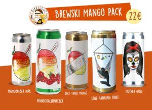 Brewski Mango Pack