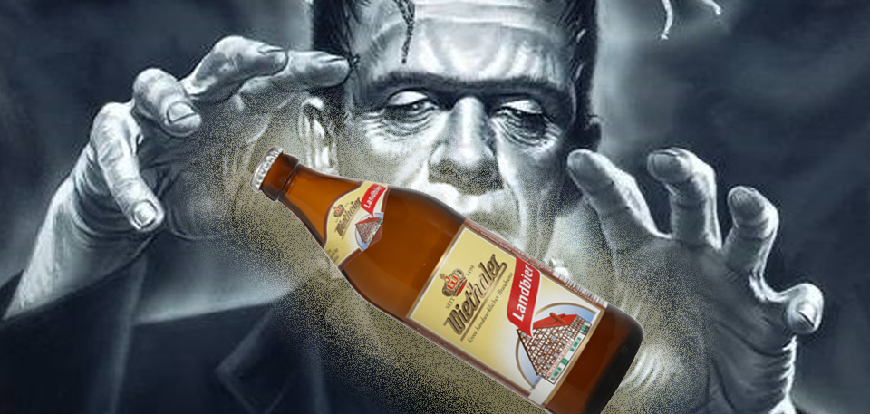 Doctor Stein grows funny beers, let's them run into the Pub…