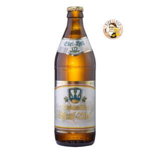 Brauerei Hauf Dinkelsbühl Edel Hell 50 cl. (Bottiglia)
