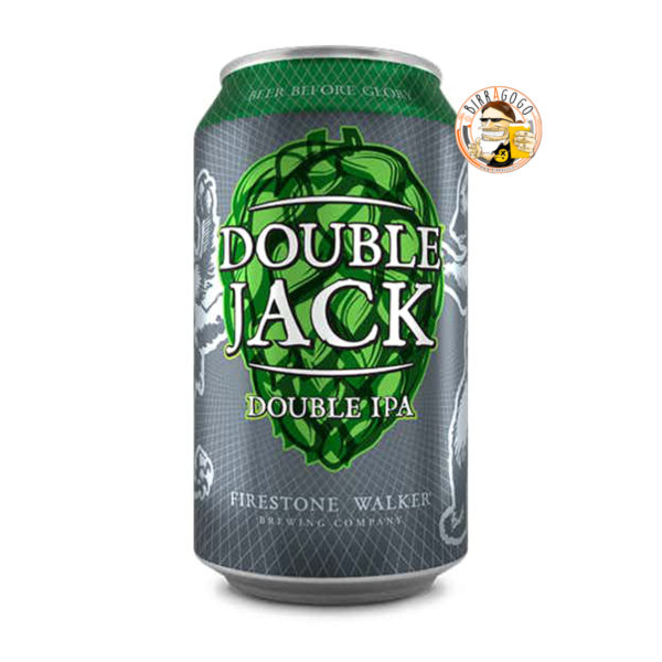 Firestone Walker Brewing Company Double Jack DIPA 35,5 cl. (Lattina)