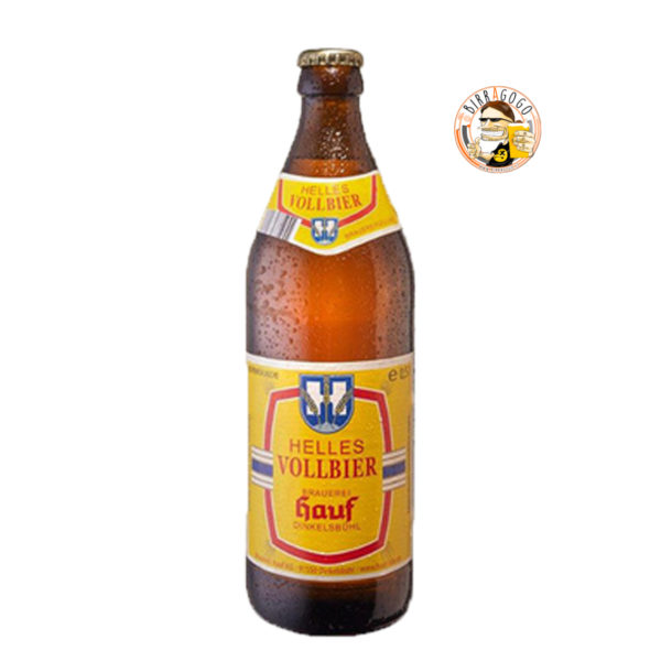 Brauerei Hauf Dinkelsbühl Helles Vollbier 50 cl. (Bottiglia)