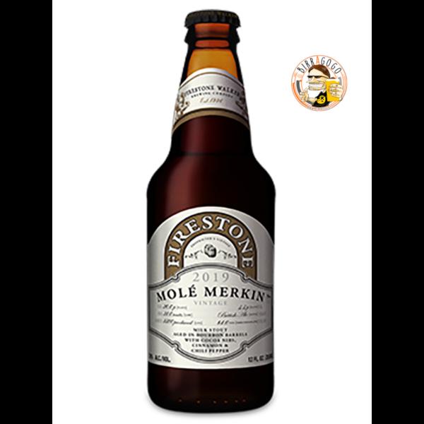 Firestone Walker Brewing Company Molé Merkin Russian Imperial Stout (Vintage 2019) 35,5 cl. (Bottiglia)