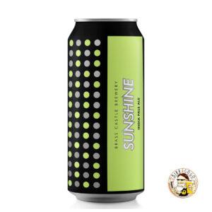 Brass Castle Brewery Sunshine IPA 44 cl. (Lattina)