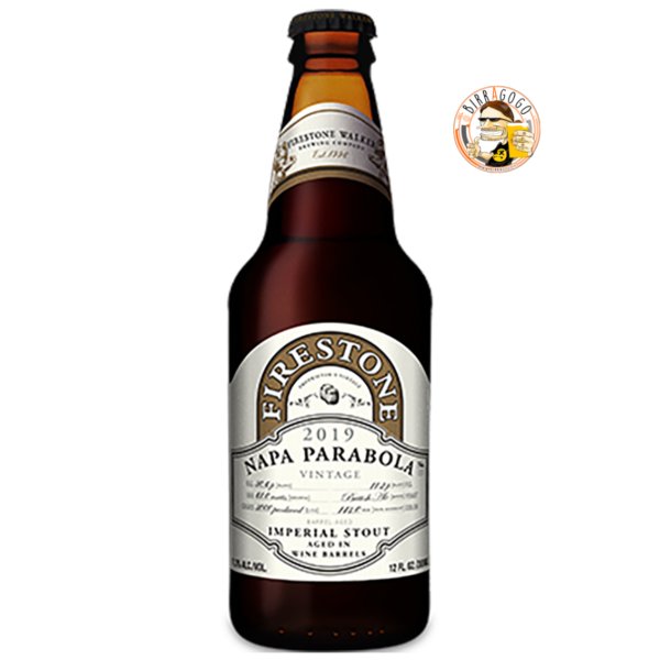 Firestone Walker Brewing Company Napa Parabola Russian Imperial Stout (Vintage 2019) 35,5 cl. (Bottiglia)