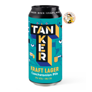 Tanker Kraft Lager 44 cl. (Lattina)