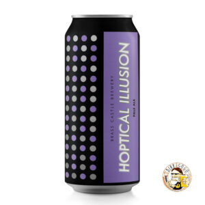 Brass Castle Brewery Hoptical Illusion Pale Ale 44 cl. (Lattina)