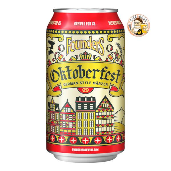Founders Brewing Co. Oktoberfest Märzen Beer 33 cl. (Lattina)