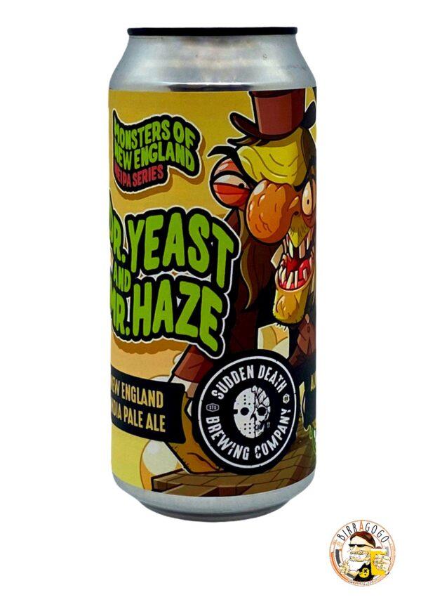 Sudden Death Brewing Co. Dr. Yeast And Mr. Haze NEIPA 44 cl. (Lattina) (Coll. Klüver's Brauhaus)
