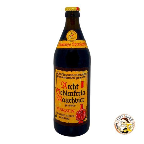 Schlenkerla Heller Bräu Trum Aecht Schlenkerla Rauchbier Märzen 50 cl. (Bottiglia)