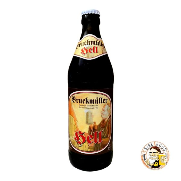 Brauerei Bruckmüller Hell 50 cl. (Bottiglia)