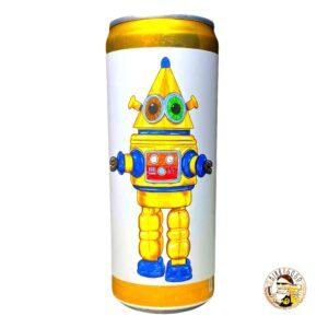 BW - Yellow Robot