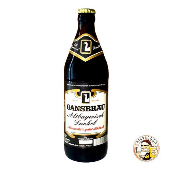 Gansbräu Altbayrisch Dunkel 50 cl. (Bottiglia)