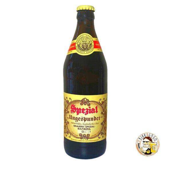 """Brauerei Spezial """"Ungespundet"""" 50 cl. (Bottiglia)"""