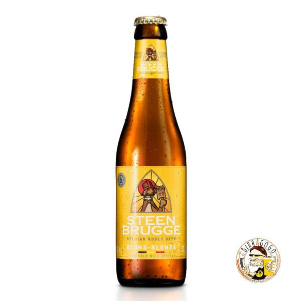 Steenbrugge Belgian Abbey Beer Blond 33 cl. (Bottiglia)