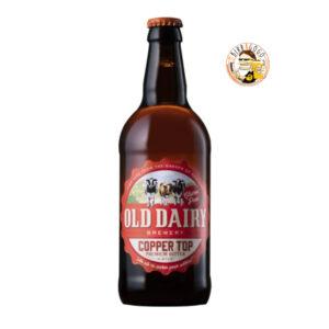 Old Dairy Brewery Copper Top Premium Bitter Gluten Free 50 cl. (Bottiglia)