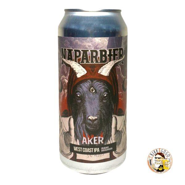 Naparbier Aker IPA (2020 Version) 44 cl. (Lattina)