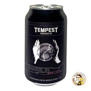 Tempest Brewing Co. Barrel 01: Bom Jesus Bourbon Barrel Aged Imperial Coffee Stout 33 cl. (Lattina)
