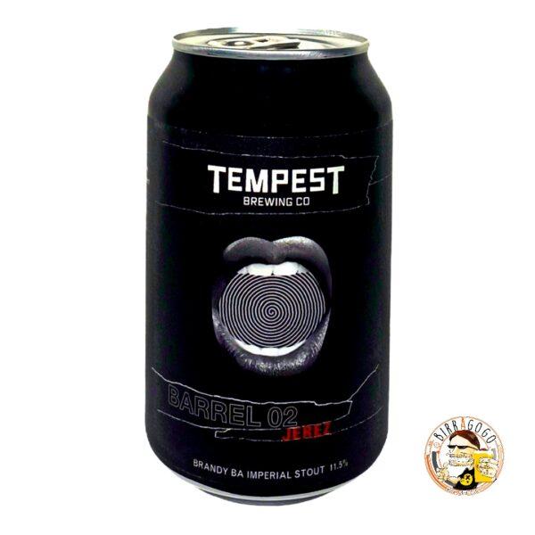 Tempest Brewing Co. Barrel 02: Jerez Brandy Barrel Aged Imperial Stout 33 cl. (Lattina)