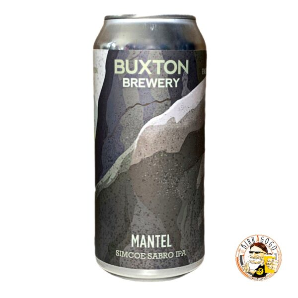 Buxton Mantel Simcoe & Sabro IPA 44 cl. (Lattina)
