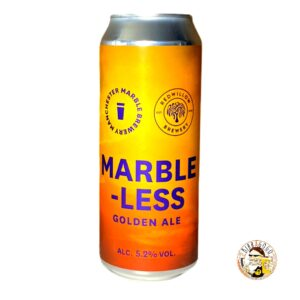 Marble less Golden Ale 50 cl. (Lattina) (Coll. Redwillow)