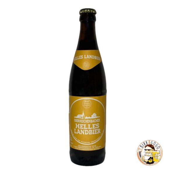 Brauereigasthof Geyer Oberreichenbacher Helles Landbier 50 cl. (Bottiglia)