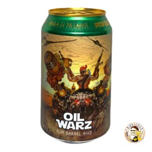 Green Gold Brewing Rum Barrel Aged Oil Warz 2018 Imperial Stout 33 cl. (Lattina)