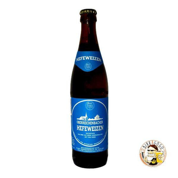 Brauereigasthof Geyer Oberreichenbacher Hefeweizen 50 cl. (Bottiglia)