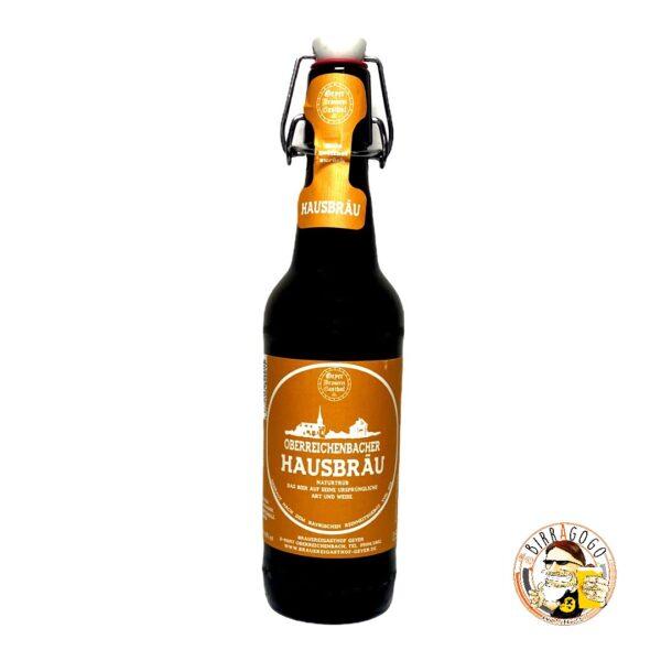 Brauereigasthof Geyer Oberreichenbacher Naturtrübes Hausbräu 50 cl. (Bottiglia)