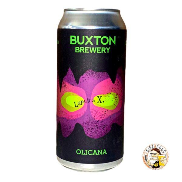 Buxton Lupulus X Olicana IPA 44 cl. (Lattina)