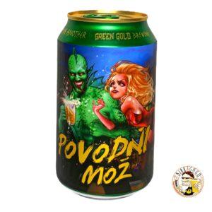 Green Gold Brewing Povodni Mož IPA 33 cl. (Lattina)