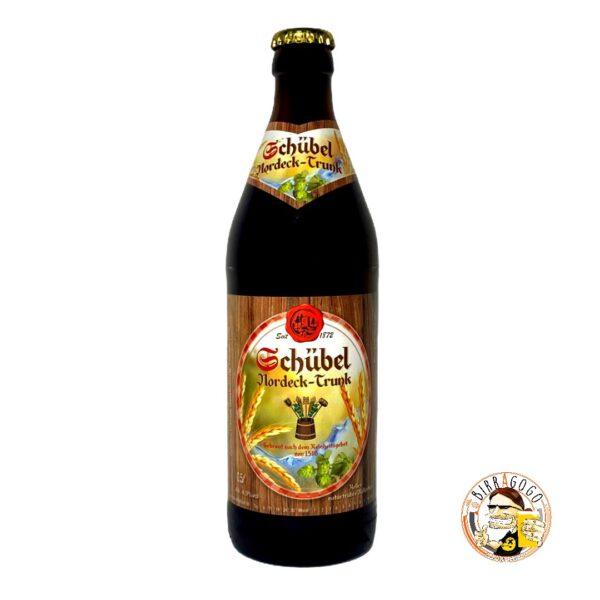 Schübel Bräu Nordeck Trunk Zwickelbier 50 cl. (Bottiglia)