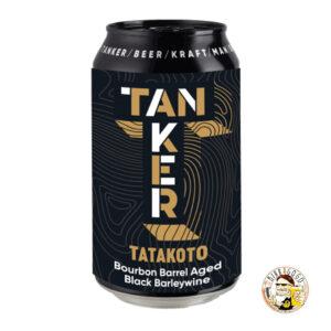 Tanker Black Pearl Series Tatakoto Bourbon Barrel Aged Black Barley Wine 33 cl. (Lattina)