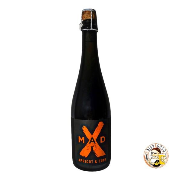 MadX Apricot & Funk Farmhouse Ale with Apricots 75 cl. (Bottiglia)