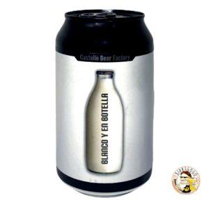 Castelló Beer Factory Blanco Y En Botella Black NEIPA 33 cl. (Lattina)