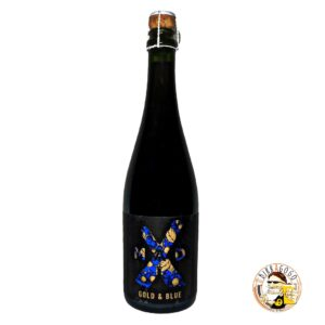 MadX Gold & Blue Barrel Aged Golden Sour Ale with Blueberries 75 cl. (Bottiglia)