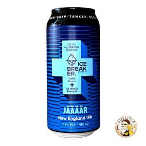 Tanker Jäääär NEIPA 44 cl. (Lattina) (Coll. Ice Breaker Brewing Co.)