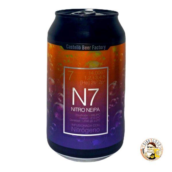 Castelló Beer Factory N7 Nitro NEIPA 33 cl. (Lattina)