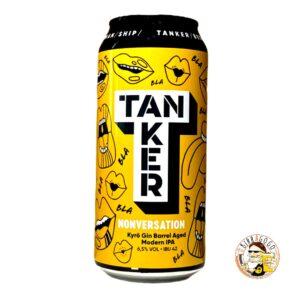 Tanker Nonversation Gin Barrel Aged NEIPA 44 cl. (Lattina)