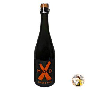 MadX Peach & Funk Farmhouse Ale with Peaches 75 cl. (Bottiglia)