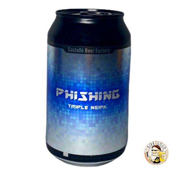 Castelló Beer Factory Phishing Triple NEIPA 33 cl. (Lattina)