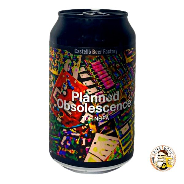 Castelló Beer Factory Planned Obsolescence NEIPA 33 cl. (Lattina)