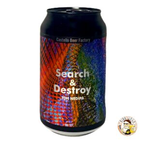 Castelló Beer Factory Search & Destroy Double NEIPA 33 cl. (Lattina)