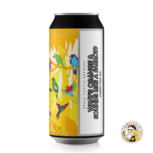 Brass Castle Brewery What's Orange & Sounds Like A Parrot? Carrot Pale Ale 44 cl. (Lattina)