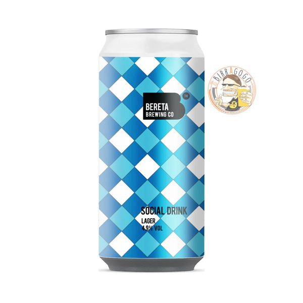 Bereta Brewing Co. Social Drink Helles 44 cl. (Lattina)