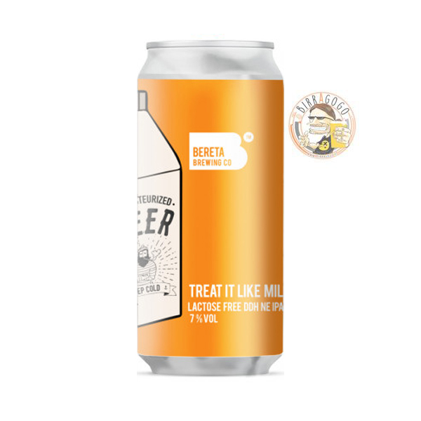 Bereta Brewing Co. Treat It Like Milk NEIPA 44 cl. (Lattina)