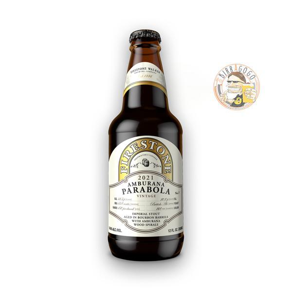 Firestone Walker Brewing Company Amburana Parabola Russian Imperial Stout (2021 Limited Edition) 35,5 cl. (Bottiglia)
