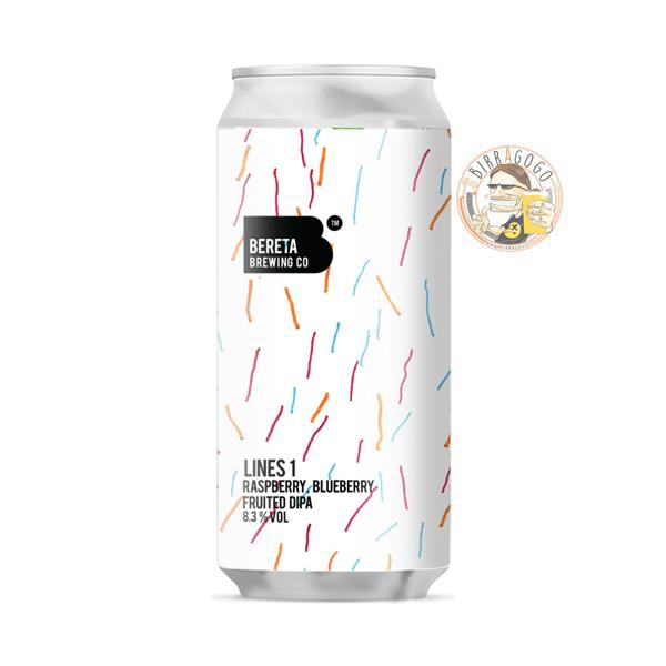 Bereta Brewing Co. Lines 1 Sour DIPA 44 cl. (Lattina)