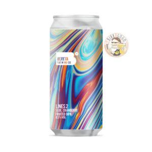 Bereta Brewing Co. Lines 2 Sour DIPA 44 cl. (Lattina)